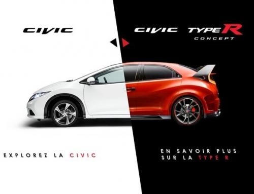 Découvrez la vidéo interactive Honda Civic