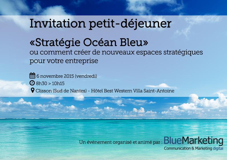 Petit déjeuner stratégie océan bleu