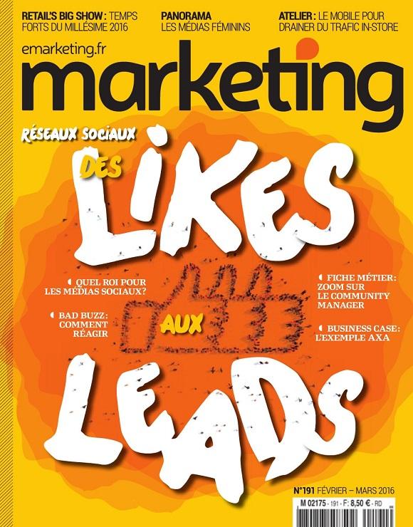 Marketing magazine ROI des médias sociaux