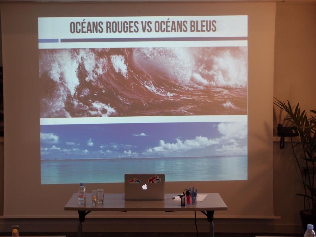 Océan rouge Versus Océan Bleu