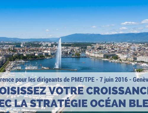 Conférence : choisissez votre croissance avec la Stratégie Océan Bleu