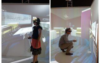 cube de réalité virtuelle