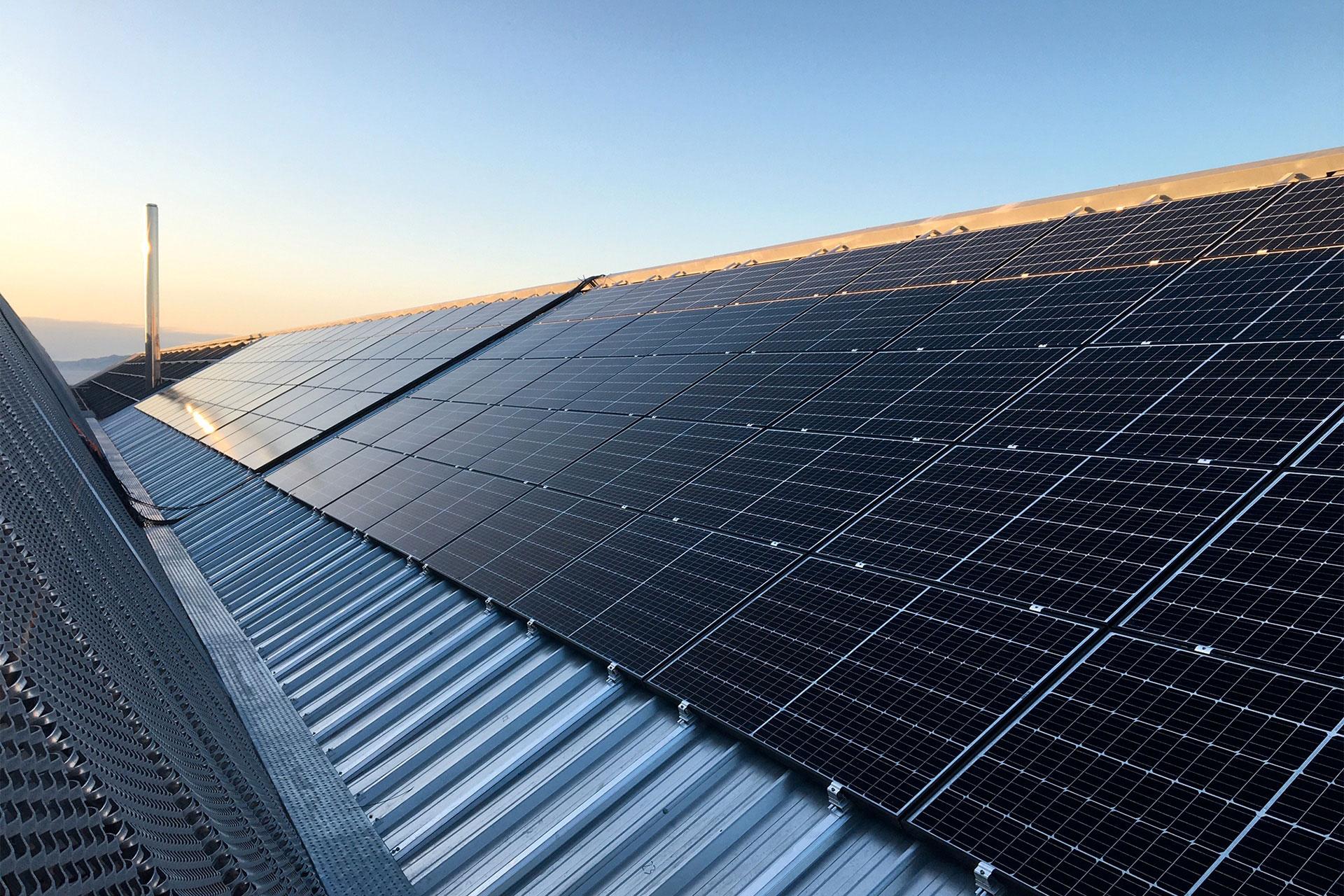 Fixations panneaux photovoltaïques