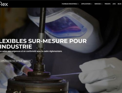 Refonte du site web Tub-Flex Industries et stratégie de marketing digital