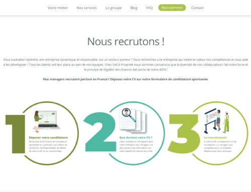 Application de recrutement