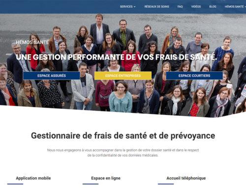 Création site web et motion design pour Hémos Santé