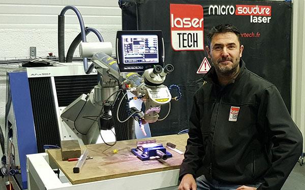 Anthony Jaret Lasertech