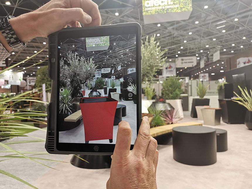 Application de réalité augmentée pour les commerciaux